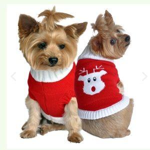 🐶⛄️XXSmall Christmas Doggie Sweater❄️